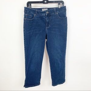 Chico's So Slimming Crop Jeans